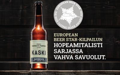KASKI Savubock voitti hopeaa arvostetussa olutkilpailussa Saksassa.